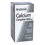 HEALTH AID Calcium complete 800mg Tabs 120s