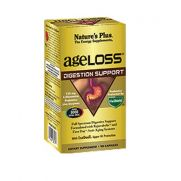NATURE'S PLUS Age loss AgeLoss Digestion Support - Αντιοξειδωτική Φόρμουλα για την Καλή Υγεία & Λειτουργία του Πεπτικού Συστήματος  90 caps