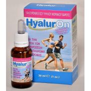 ABC Kinitron  HyalurOn - Υαλουρονικό Οξύ υψηλού μοριακού βάρους - Συμπλήρωμα διατροφής για την υγεία των αρθρώσεων 30ml