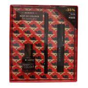 KORRES Σετ Μακιγιάζ - Twist Lipstick SEDUCTIVE 2.5g & Black Volcanic Minerals Lasting Eyliner 01 ΜΑΥΡΟ 1.2g & Nail Colour Βερνίκι Νυχιών 100 PRECIOUS BLACK 10ml