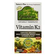 NATURE'S PLUS Source of life Garden Vitamin K2 120mcg Vegcaps 60s
