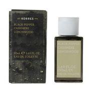 KORRES Eau de Toilette Black Pepper / Cashmere / Lemonwood - Ανδρικό Άρωμα 50ml
