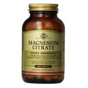 SOLGAR Magnesium Citrate 200mg Tabs 120s