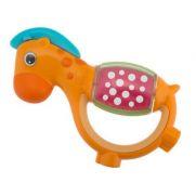 Chicco Polka Dot Giraffe Rattle - Κουδουνίστρα Καμηλοπάρδαλη με Εργονομική Λαβή 3m+ 1τμχ.