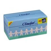 CLINOFAR Αποστειρωμένος Φυσιολογικός Ορός για τη Μύτη και τα Μάτια, 40+20 ΔΩΡΟ , αμπούλες των 5ml