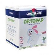 MASTER AID Ortopad Παιδικά Οφθαλμικά αυτοκόλλητα 50τμχ (76x54cm) Medium Λευκό (100.87)