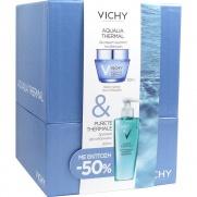 Vichy Set Aqualia Thermal Κρέμα Ημέρας για Ξηρή επιδερμίδα 50ml + Purete Thermale Δροσερό Τζελ Καθαρισμού με έκπτωση 50% 200ml