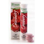 POWER HEALTH Cranberry αναβράζοντα eff tabs 20s