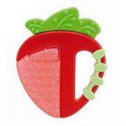 CHICCO Fresh Relax Theething Ring - Δροσιστικός Κρίκος Οδοντοφυίας Φράουλα 4m+