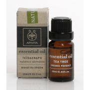 APIVITA Essential Oil Tea Tree - Βιολογικά Αιθέρια Έλαια Τεϊόδεντρο 10ml