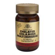SOLGAR Chelated Solamins Multi Mineral Tabs 90s