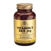 SOLGAR Vitamin E Natural 268mg 400IU Softgels 50s