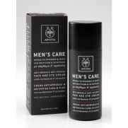 APIVITA Men's Care Κρέμα για Πρόσωπο και Μάτια κατά των Ρυτίδων και της Κούρασης με Κάρδαμο και Πρόπολη 50ml