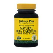 NATURE'S PLUS Natural Beta Carotene 15mg Softgels 90s
