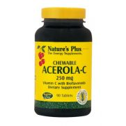 NATURE'S PLUS Acerola-C Complex 250mg Chewable Tabs 90s