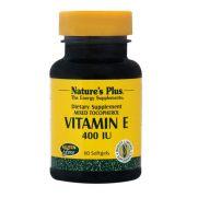 NATURE'S PLUS Vitamin E 400 I.U. Softgels 60s
