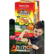 NATURE'S PLUS Animal Parade Vitamin D3 Chewable Tabs 90s