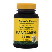 NATURE'S PLUS Manganese 50mg Tabs 90s