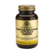 SOLGAR Echinacea / Goldenseal / Cat's Claw veg.caps 60s
