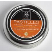 APIVITA Pastilles - Παστίλιες για το Λαιμό και το Βήχα με Πρόπολη και Γλυκύρριζα 45g