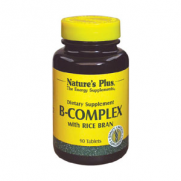 NATURE'S PLUS B-Complex with Rice Bran Tabs 90s