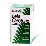 HEALTH AID Beta Carotene 23000 I.U. Caps 30s