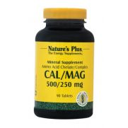 NATURE'S PLUS Cal/Mag 500/250 mg Tabs 90s