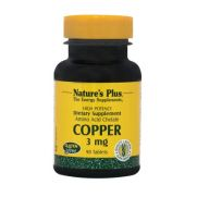 NATURE'S PLUS Copper 3mg Tabs 90s