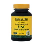 NATURE'S PLUS Zinc Picolinate Tabs 60s