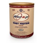 SOLGAR Whey-To-Go® Protein 80% pwd 1162gr Σοκολάτα