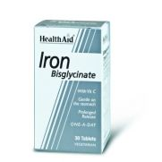 HEALTH AID Iron Bisglycinate 30mg Tabs 30s