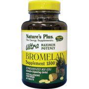 NATURE'S PLUS Ultra Bromelain 1500 mg Tabs 60s