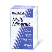 HEALTH AID Multiminerals Tabs 30s