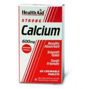 HEALTH AID Calcium & Vit. D 600mg Chewable Tabs 60s