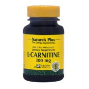 NATURE'S PLUS L-Carnitine 300mg Caps 30s