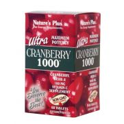 NATURE'S PLUS Ultra Cranberry 1000 mg Tabs 60s