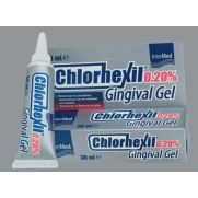 INTERMED Chlorhexil Gingival Gel Chlorhexidine 0.20% - Αντισηπτικό Gel για την Αγωγή των Εντοπισμένων Κακώσεων της Στοματικής Κοιλότητας 30ml