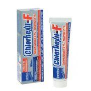 INTERMED Chlorhexil - F Toothpaste Chlorhexidine 0.1% + Fluoride 0.1% -  Αντιβακτηριδιακή Οδοντόπαστα για την Καθημερινή Ουλοοδοντική Φροντίδα 100ml