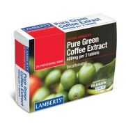 LAMBERTS Pure Green Coffee Extract Decaffeinated Tabs 60s