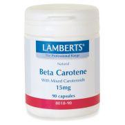 LAMBERTS Beta Carotene Natural 15 mg Caps 90s