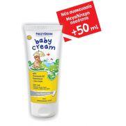 FREZYDERM Baby Cream με Χαμομηλέλαιο, Παντοθενόλη και Οξείδιο του Ψευδαργύρου (+50ml Δωρεάν) 175 ml