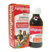 VITABIOTICS Feroglobin B12 Υγρος σίδηρος , Ψευδαργυρος , βιταμίνες Β & Μέταλλα  200ml