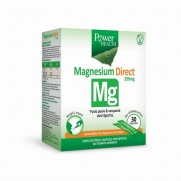 Power Health Magnesium Direct Συμπλήρωμα με Μαγνήσιο για την Υγεία Μυών & Νευρικού Συστήματος 350mg, 30 φακελάκια