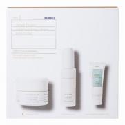 Korres Set Λευκή Πεύκη για Όλους τους Τύπους Επιδερμίδας με Ορό Προσώπου 30ml & Κρέμα Νύχτας 40ml & Τσαι Ολυμπου Γαλακτωμα Καθαρισμου 3 σε 1 16ml