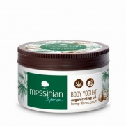 MESSINIAN SPA Body Yogurt Κάνναβη & Έλαιο Καρύδας 250ml