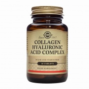 SOLGAR Collagen Hyaluronic Acid Complex tablets