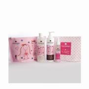 Messinian Spa Daughter & Mommy Shower Gel 300ml & Body Milk 300ml & Hair & Body Mist 100ml Free Gift Cosmetic Bag