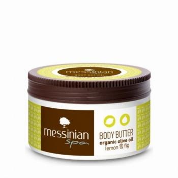 Messinian Spa Body Βutter Lemon-Fig (Λεμόνι-Σύκο) 80ml