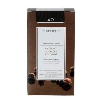 KORRES Βαφες μαλλιων Argan Oil Advanced Colorant Μόνιμη βαφή μαλλιών 4.0 ΚΑΣΤΑΝΟ ΦΥΣΙΚΟ