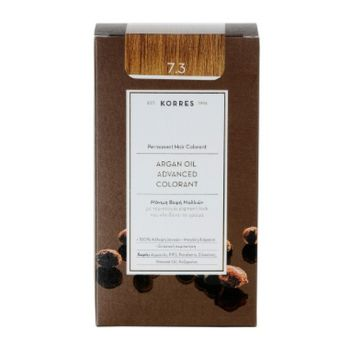 KORRES Βαφες μαλλιων Argan Oil Advanced Colorant Μόνιμη βαφή μαλλιών 7.3 ΞΑΝΘΟ ΜΕΛΙ